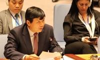 """Việt Nam đại diện cho ASEAN cam kết đóng góp vào nỗ lực chung """"Bảo vệ dân thường trong xung đột vũ trang"""""""