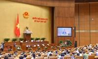 Quốc hội nghe báo cáo thẩm tra dự án Luật sửa đổi bổ sung trong Luật tổ chức Chính phủ và Luật tổ chức chính quyền địa phương