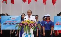 Phó Thủ tướng thường trực Trương Hòa Bình dự lễ ra quân Thanh niên tình nguyện Hè 2019