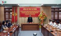 Phó Chủ tịch Thường trực Quốc hội Tòng Thị Phóng thăm Quảng Nam