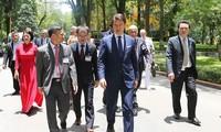 Thủ tướng Cộng hòa Italy Giuseppe Conte kết thúc chuyến thăm chính thức Việt Nam