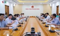 """Đài TNVN và UBND tỉnh Quảng Ninh họp bàn công tác tổ chức """"Cuộc thi tiếng hát ASEAN+3"""" 2019"""