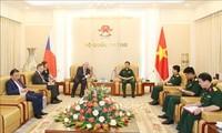 Tổng Tham mưu trưởng Quân đội Nhân dân Việt Nam tiếp Phó Chủ tịch Hạ viện Cộng hòa Czech
