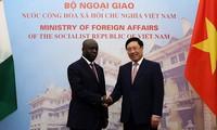 Việt Nam coi trọng phát triển quan hệ hữu nghị và hợp tác với Bờ Biển Ngà