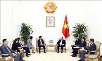 Thủ tướng Nguyễn Xuân Phúc tiếp Đại sứ Nhật Bản và lãnh đạo Tập đoàn AEON (Nhật Bản)