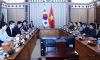 Lãnh đạo Thành phố Hồ Chí Minh tiếp Tỉnh trưởng Gyeongsanbuk