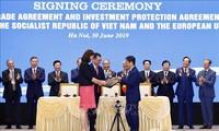 Truyền thông quốc tế đưa tin Việt Nam và EU ký Hiệp định thương mại tự do