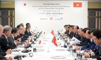 Thủ tướng Nguyễn Xuân Phúc tọa đàm với lãnh đạo các tập đoàn hàng đầu của Nhật Bản