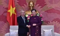 Đoàn Đại biểu cấp cao Đảng Liên đoàn Quốc gia vì Dân chủ cầm quyền tại Myanmar thăm Việt Nam