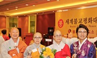 Sư cô Thích Nữ Giới Tánh nhận giải thưởng Hòa bình Phật giáo thế giới