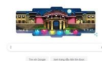 """Lễ hội Đèn lồng Hội An """"thắp sáng"""" trang chủ Google"""