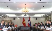 Đẩy mạnh hợp tác trong lĩnh vực ngoại giao giữa Việt Nam và Lào