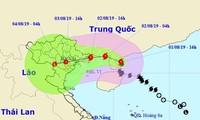 Các địa phương triển khai khẩn trương đồng bộ các biện pháp ứng phó với bão WIPHA