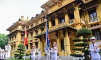 Lễ thượng cờ ASEAN – Kỷ niệm 52 năm ngày thành lập ASEAN