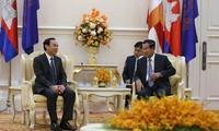 Đưa quan hệ Việt Nam - Campuchia ngày càng phát triển, đi vào chiều sâu
