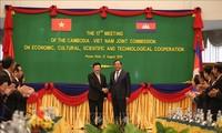 Việt Nam-Campuchia ký biên bản định hướng hợp tác toàn diện 28 lĩnh vực