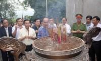 Председатель ЦК ОФВ Нгуен Тхиен Нян посетил провинцию Футхо