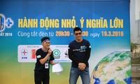 Вьетнамская молодёжь принимает активное участие в акции «Час Земли»