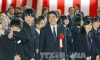 Премьер-министр Японии совершит турне по Европе