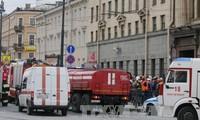 Теракт в Санкт-Петербурге: Руководители Франции, России и США обсудили борьбу с терроризмом