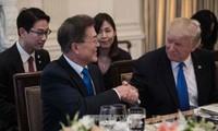 Президенты США и РК обсудили проблему КНДР и вопросы торговли
