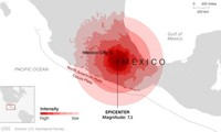 Число жертв землетрясения в Мексике выросло почти до 250