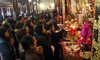 Вьетнамская традиция посещения пагод и храмов в начале нового года