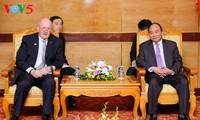 Премьер-министр и глава парламента Вьетнама приняли генерал-губернатора Австралии