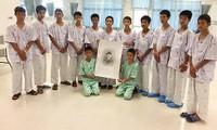 Все члены подросткой футбольной команды Таиланда вернулись домой