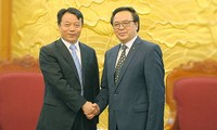 Хоанг Бинь Куан принял делегацию ЦК Коммунистического Союза молодежи Китая