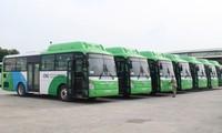 Введение в эксплуатацию автобуса с использованием CNG – часть плана зеленого развития города Ханоя