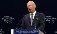 Пленарное заседание в рамках саммита ВЭФ по АСЕАН 2018 на тему «Приоритеты АСЕАН в период 4-й промышленной революции»