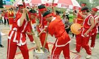 2016年雄王祭祖大典暨雄王庙会的多项活动举行