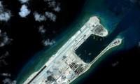 中国在东海非法建设人工岛严重威胁生态环境