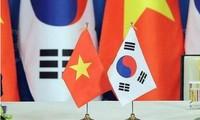 越南和韩国企业对接洽商