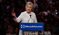 美国总统选举:希拉里在加利福尼亚州大胜