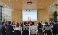 第四次越法经济高级对话在巴黎举行
