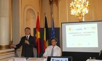 """""""越欧自贸协定:新机遇""""研讨会在欧洲举行"""