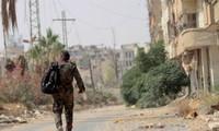 """叙利亚政府军夺回""""伊斯兰国""""组织掌控的地区"""