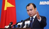 越南反对中国海军纪念收复长沙黄沙群岛70周年