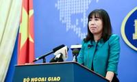 越南基于国际法以和平方式解决东海争端