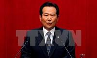 韩国国会议长丁世均对越南进行正式访问