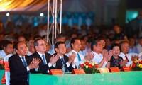 阮春福表示:要将茶荣省建设成为发达省份