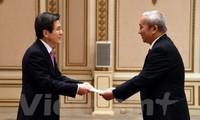越南和韩国力争到2020年将两国贸易额提升至1000亿美元