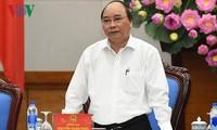 阮春福将主持政府与企业同行会议