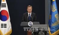 韩国批准与朝接触