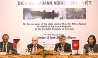 越南和捷克推动贸易与投资合作