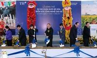 阮春福与河江省领导人举行工作座谈