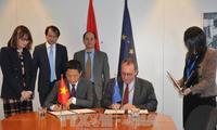 欧盟和越南努力签署双边自贸协定