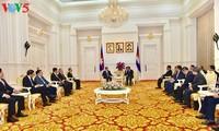 越南公安部部长苏林对柬埔寨进行工作访问
